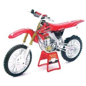 Ray 08 Honda Crf 450r Red Bull Honda Racing Dirt Bike Toy Automotive