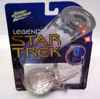 STAR TREK Johnny Lightning ENTERPRISE NX 01 MOC