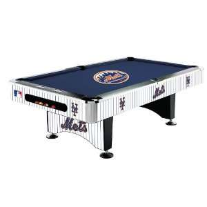 New York Mets MLB Pool Table