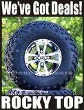 LIFT KIT+ WHEEL and TIRE COMBO for CLUB CAR GOLF CART 5