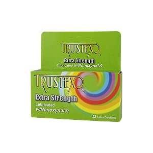 Extra Strength Lubricated Condoms w/Nonoxynol 9   12 latex condoms