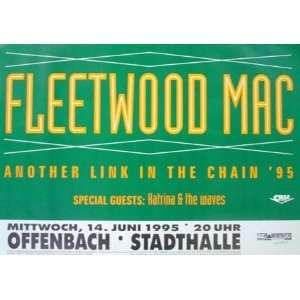 Fleetwood Mac Frankfurt Original Concert Poster 1995