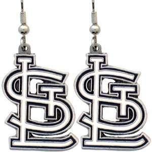 MLB St Louis Cardinals Logo Earrings *