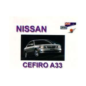 Nissan Cefiro A33 1998   Owners Manual (9781869760984