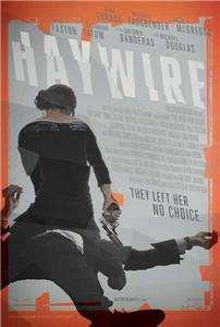 Haywire (2011) 27 x 40 Movie Poster, Channing Tatum Style B