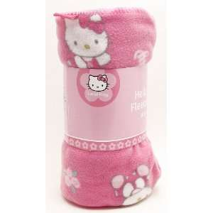 Sanrio Hello Kitty Fleece Blanket and Hello Kitty Elegant