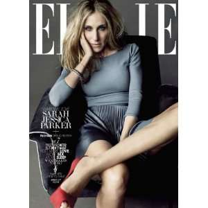 Elle Magazine January 2011   Sarah Jessica Parker Books