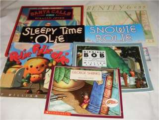 Set of 7 William Joyce picture books Rolie Polie Olie+