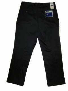 Dockers Polished Khaki Pants Straight Fit Black NWT