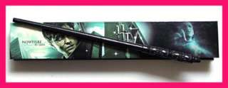 RARE HARRY POTTER COLLECTORS SNAPE WAND + DELUXE BOX