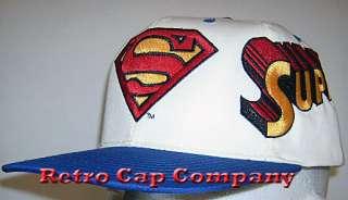 VINAGE SUPERMAN RERO SNAPBACK CAP |