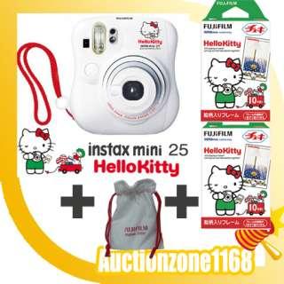 Fuji Instant Instax Hello Kitty Mini 25 Polaroid Camera 4547410096828