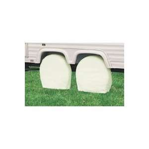 ACCESSORIES 76230   Classic Accessories Wheel Covers Snow White 76230