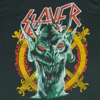 VTG SLAYER SOUTH OF HEAVEN 80s T SHIRT RARE tour