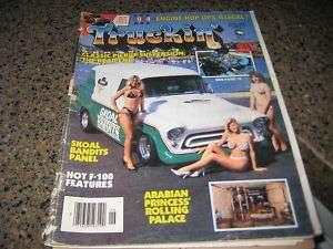 VINTAGE TRUCKIN MAGAZINE JUNE 1984 SKOAL BANDITS
