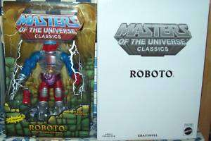 MASTERS OF THE UNIVERSE MOTU CLASSICS ROBOTO MOC