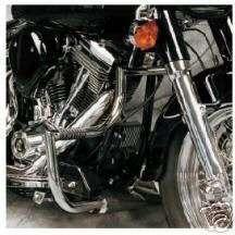 Lindby Engine Guards Crash Bars Harley Dyna Fat Bob