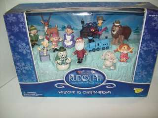 RUDOLPH THE ISLAND OF MISFIT TOYS CHRISTMASTOWN MIB
