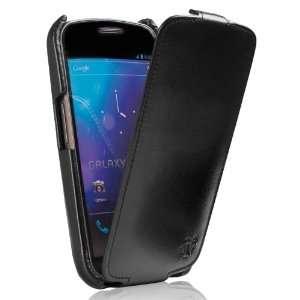 Galaxy Nexus Prestige Ultra Slim Collection Leather Flip case Black