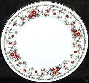 SHEFFIELD ANNIVERSARY 2 BREAD PLATES FINE CHINA WHITE