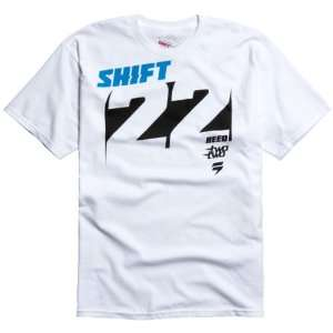 Shift Racing Reed Knockout Mens Short Sleeve Fashion T Shirt/Tee w