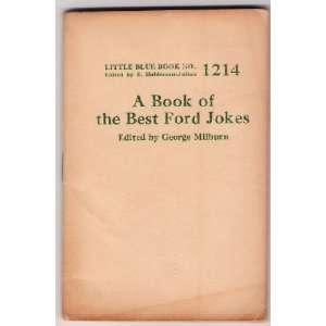 A Book Of Best Ford Jokes (Little Blue Books, 1214