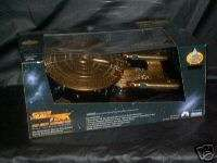 STAR TREK 7TH ANNIVERSARY ENTERPRISE GOLD SHIP