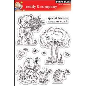 Penny Black Clear Stamp Set, Teddy and Company Arts