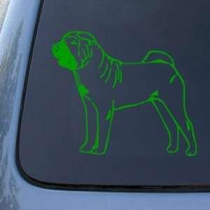 SHAR PEI   Dog   Vinyl Car Decal Sticker #1556  Vinyl