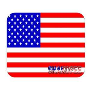 US Flag   Shakopee, Minnesota (MN) Mouse Pad Everything