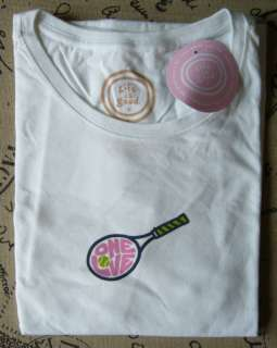 Life is good Womens Crusher tee   One Love Tennis   New with tags