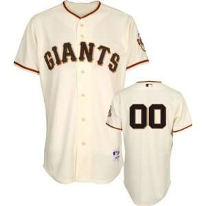 San Francisco Giants Jersey Any Player Home Ivory Authentic On Field