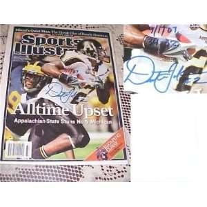Dexter Jackson Signed Sports Illustrated Magazine COA   Autographed