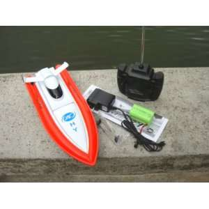 New 12 Inches Beautiful Looking 4 Channels RC Speed Boat *Colors Vary