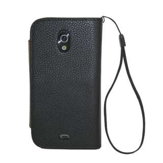 Black Wallet Leather Case Cover Card Slot for Samsung Galaxy Nexus