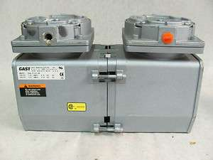 Gast DAA P103 EB Vacuum Pump, 110/115 V, Used in Good Condition