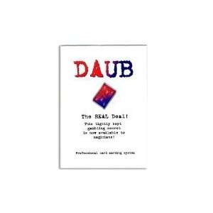 Daub (red and blue) Toys & Games
