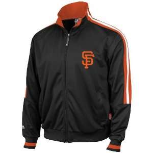 San Francisco Giants Therma Base Track Jacket, Black