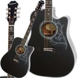 Dave Navarro Acoustic Electric Guitar: Musical Instruments