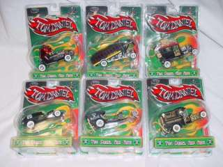 TOM DANIELS RAD RATZ 1/43 COLLECTION All Six Cars SCOOL BUS RED BARON