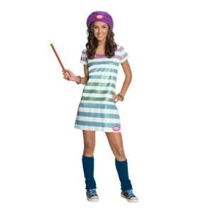 Wizards of Waverly Place Alex Striped Girl Costume Toys & Games