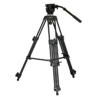VZ TK75A Aluminum Video Tripod with 65mm Fluid Head and Carry Case