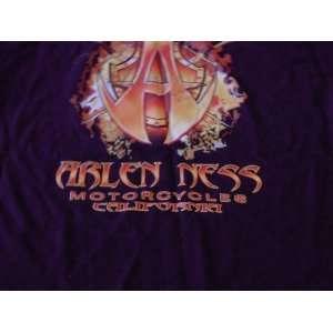 Signed Arlen Ness Motorcycle Tee Shirt