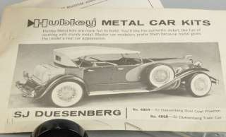 Vintage Hubley 1932 Chevrolet Chevy Coupe Metal Model Car Kit No. 4869