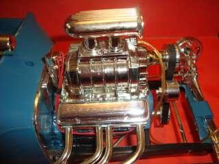 Monogram 1/8 Scale Big Drag Ford Hot Rod Model Car Parts Car
