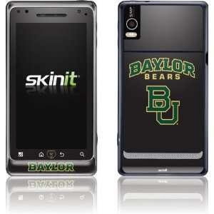 Baylor University Bears skin for Motorola Droid 2