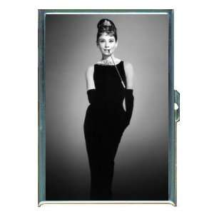 Audrey Hepburn Breakfast B&W ID Holder, Cigarette Case or Wallet MADE