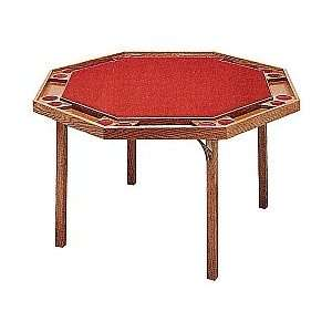 Kestell Octagon Poker Table with Folding Legs Octagon Poker Table