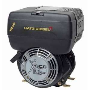 Hatz Diesel Engine   7 HP, 1in. x 2 7/16in. Shaft, Model