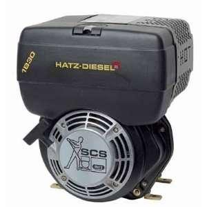 Hatz Diesel Engine   7 HP, 1in. x 2 7/16in. Shaft, Model